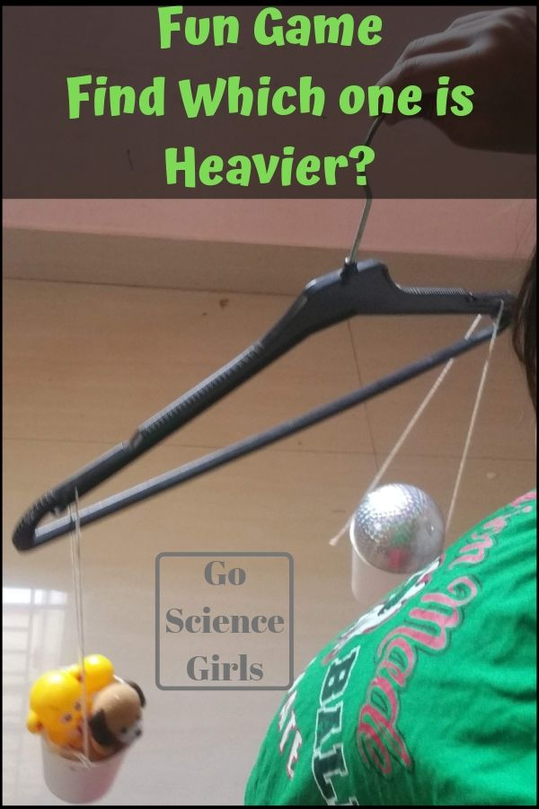 Which one is heavier fun science for toddlers