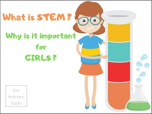 What is STEM for girls? And why is it important? Encouraging girls in Science, Technology, Engineering and Math...