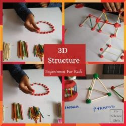 Build Your Own 3D Structure : STEM Challenge for Kids