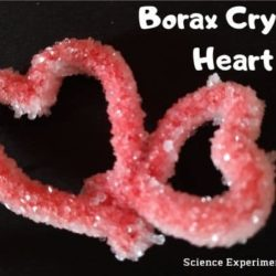 Interlocking Crystal Hearts : Grow Your Own Crystals