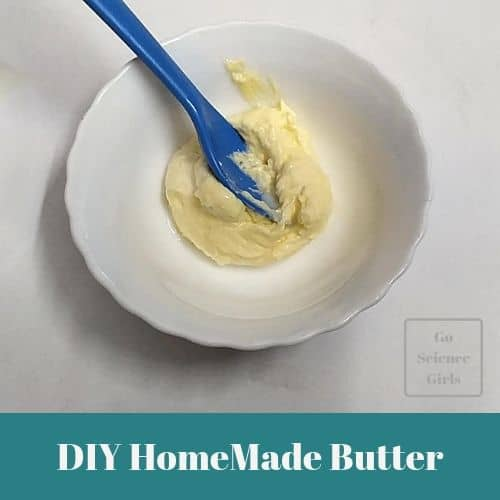 DIY Homemade butter - Edible Science for Kids
