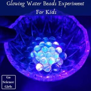 Glowing-WatBeads Experiment For Kids