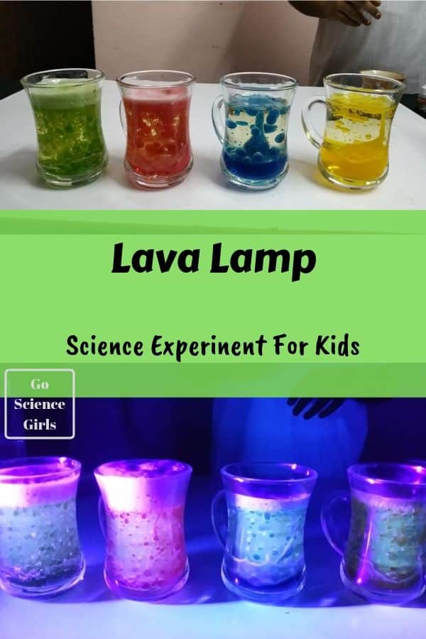 Home Made Lava Lamp Experiment for Kids