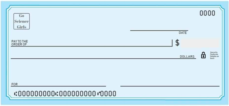 blank check template for kids