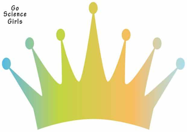 crown template for king