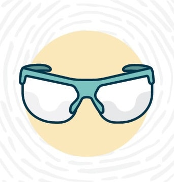 Lab Safety - Safety Goggles Symbol