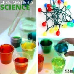 Lightbox Christmas science