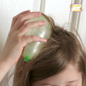 Static electricity science with balloon