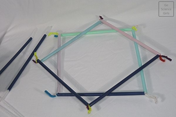 Base frames for square wand - for square bubble making