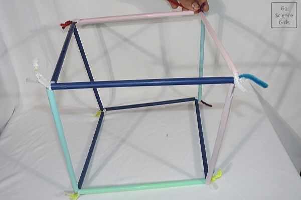 Final square wand for square bubble making
