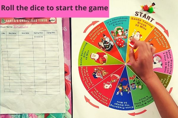 Santa Christmas Fun Game Activity
