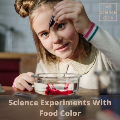 Science Experiments With Food Color