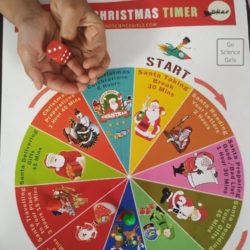 Santa's Christmas Timer : Fun Board Game to Teach Time