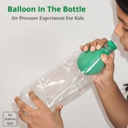 Balloon in a Bottle : Air Pressure Experiment