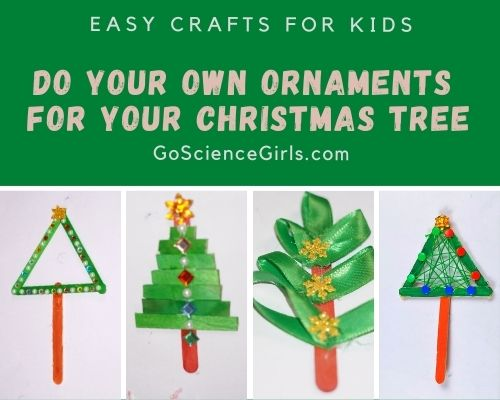 Easy Crafts For Christmas Tree Decorations