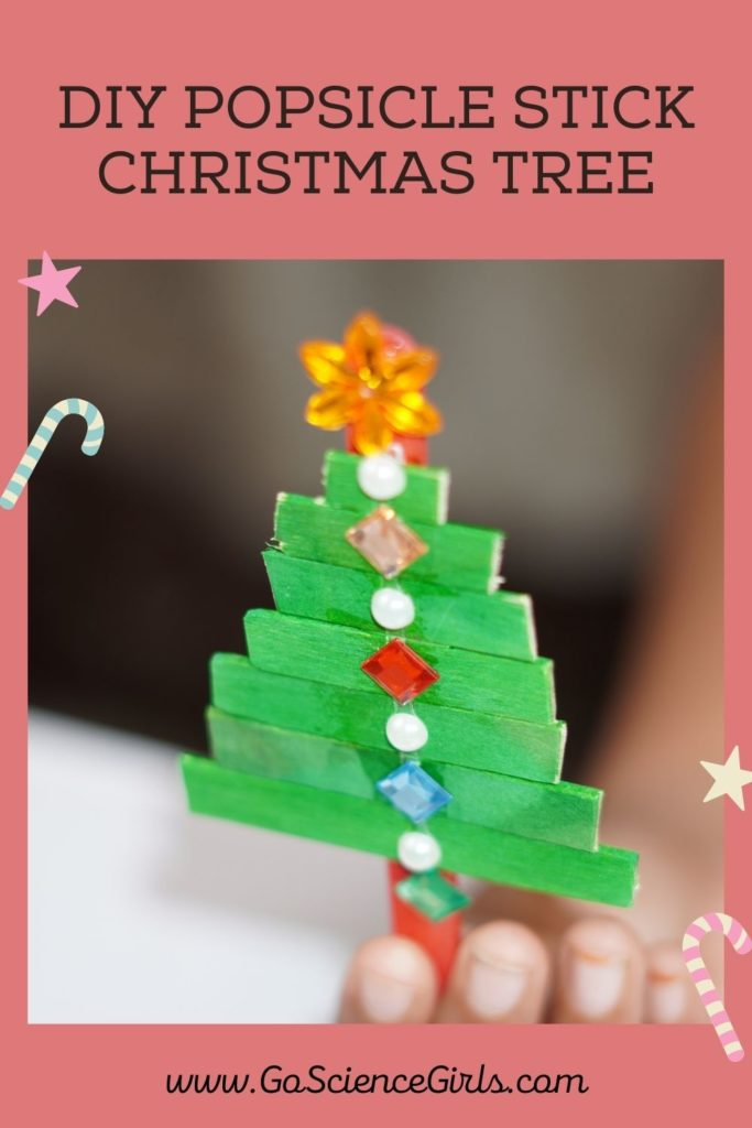 Diy PopSicle Stick Christmas Tree