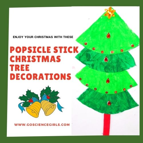 Easy Popsicle Stick Christmas  Tree