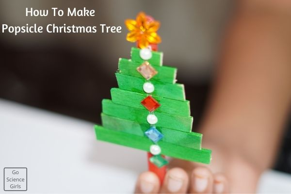 Popsicle Stick Christmas Tree Decorations