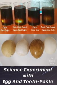 Science Experiment With Tooth Paste