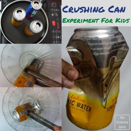 Crushing Can Science Experiment For Kids