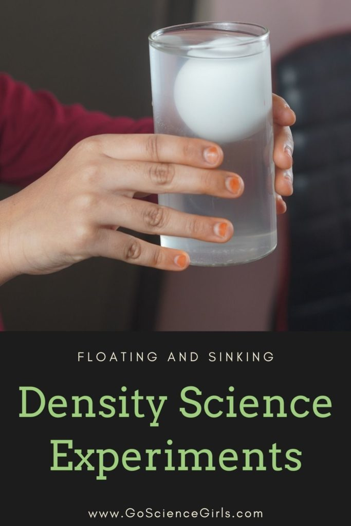 Floating And Sinking Density Science Experiments