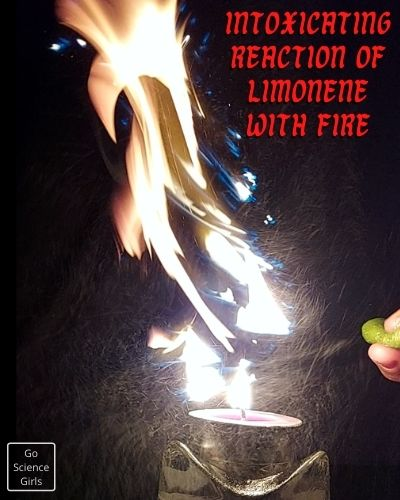 Intoxicating Reaction Of Limonene With Fire