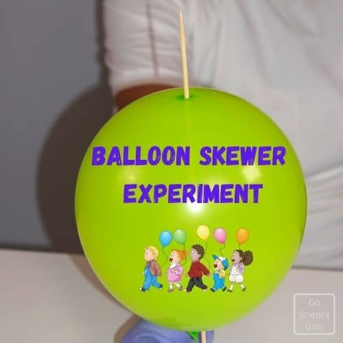 Balloon Skewer Experiment For Kids