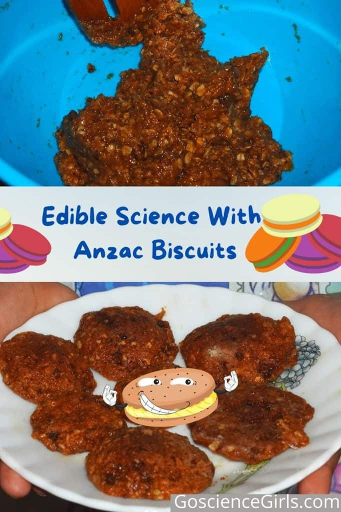 Edible Science With Anzac Biscuits