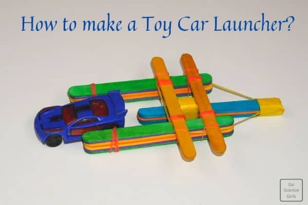 How to make a toy car launcher