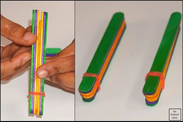 Making Popsicle Stick Car Launcher
