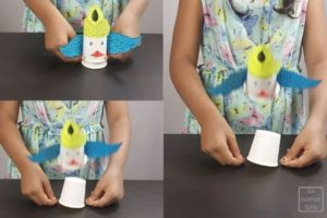 DIY Paper Cup Rocket Craft