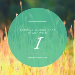 Fascinating Science Words That Start With 'I'
