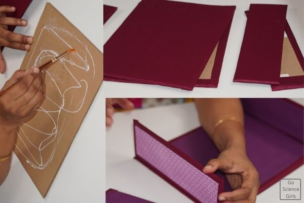 Wrapping The Cardboards