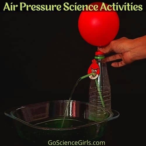 Air Pressure Experiment For Kids Science Activities