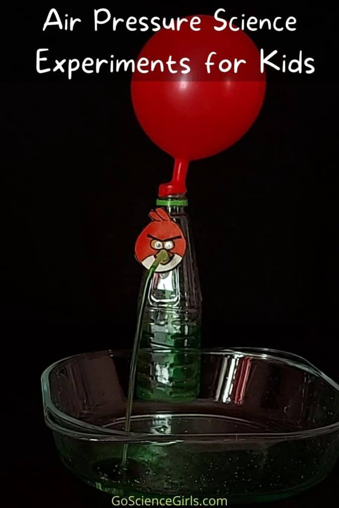 Air Pressure Science Experiments for Kids