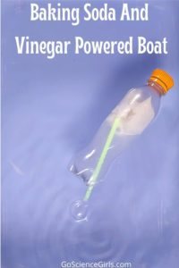 Baking Soda and Vinegar Powered Boat