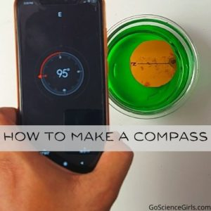 How to Make a Magnetic Compass Using Needle