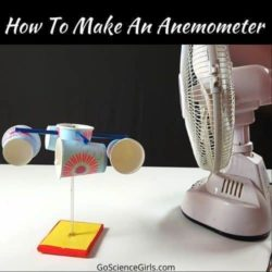 How to Build An Anemometer – Science Fair Project