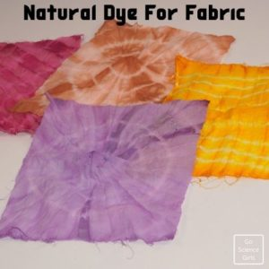 Natural Dye from Fruits and Vegetables - Fabric Dyeing