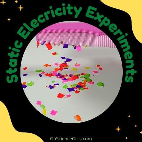Static Comb - Static Electricity Experiment
