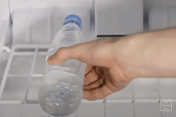 Keep the bottle in refrigerator