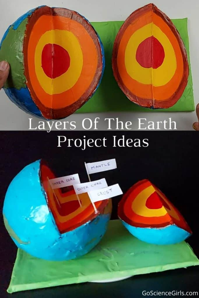 Layers of the earth project ideas