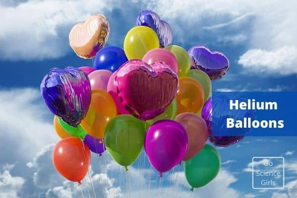 Helium Balloons - Use of Noble gases