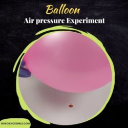 Balloon and Pin Experiment (Air Pressure Experiment for Kids)