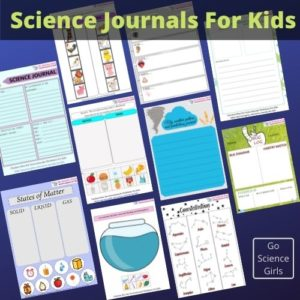 Printable Science Journals for Kids